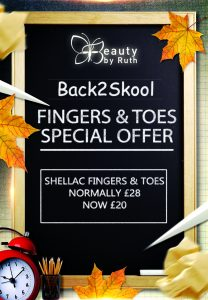 Back2Skool Shellac Fingers & Toes