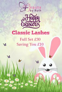 Easter 2017 Offer - Long Weekend Classic Lashes!