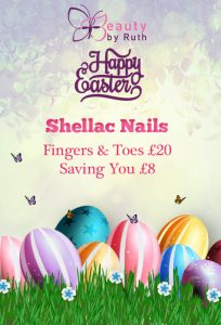 Easter 2017 Offer - Easter Egg-Shellac!