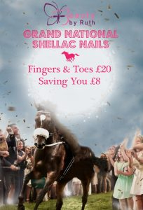 Ladies Day 2018 Shellac Nails