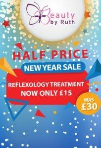 Half Price Reflexology Treatment