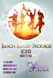 Beach Ready Package for £30