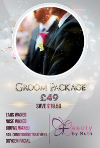 Summer Special Offers Groom Package