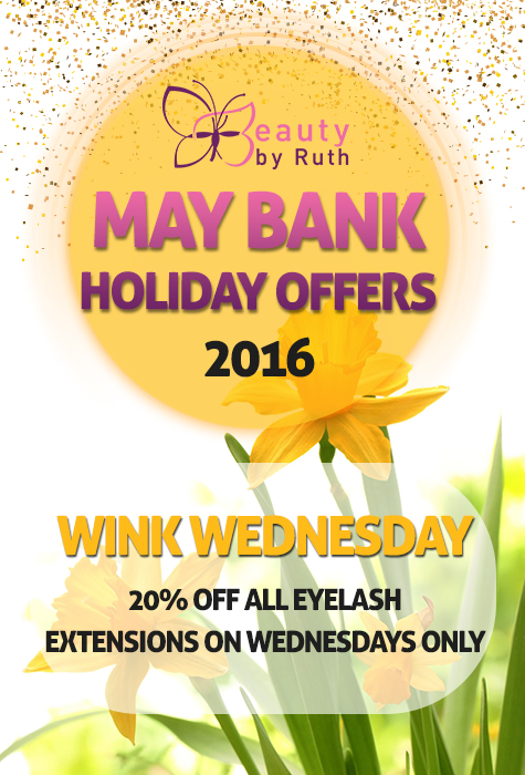 May Bank Holiday Special Offer 3