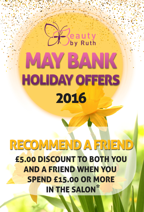 May Bank Holiday Special Offer 2