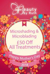 £50 Off All Microshading Treatments