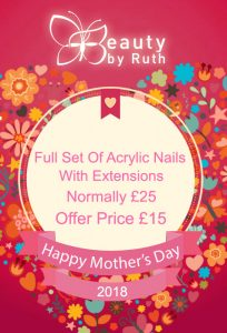 Save £10 On A Full Set Of Acrylic Nails With Extensions