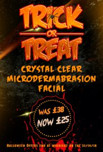 Halloween Crystal Clear Microdermabrasion Facial