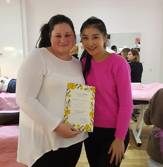 Ruth Completes Ombre Brows & Powder Brows Training
