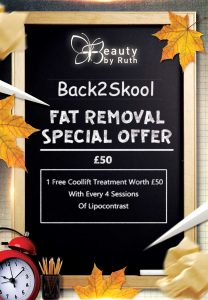 Back2Skool Liverpool Fat Removal Offer