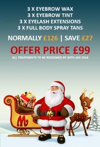 Christmas Beauty Treatments